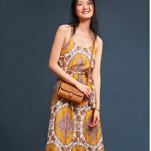 Anthropologie Akemi + Kin Medallion Maxi Dress XS